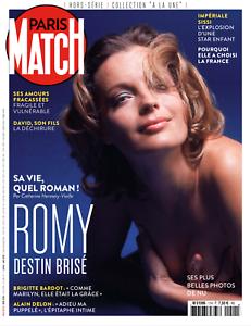 Paris Match Hors-série N°11 en version numérique - ROMY SCHNEIDER, destin brisé