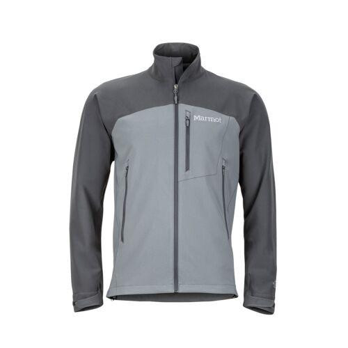 Marmot Estes Jacket Men Leicht-Softshell für Herren cinder-slate grey