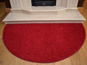 Circles Red Rugs Rug Carpets Mat Mats