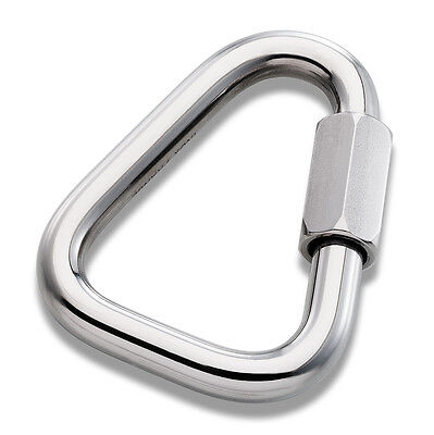 7mm Delta Maillon Rapide Stainless Steel 31KN PPE