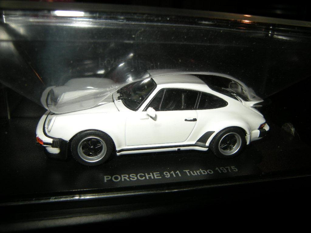 1 43 Kyosho Porsche 911 Turbo 1975 blanc BLANC Nº 05524 W neuf dans sa boîte