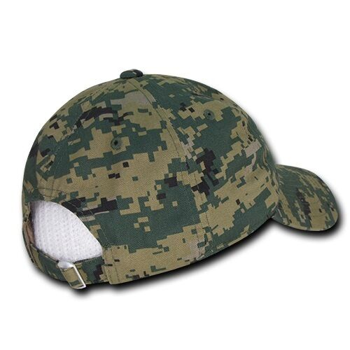 Camo USA US American Flag United States America Marines Polo Baseball Hat Cap