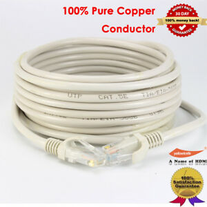 """Ethernet /""""Data-Master/"""" Network Cable *Cat5e* 50 Ft Long! NEW Shielded"""