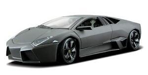 Bburago-1-18-Lamborghini-Reventon-Diecast-MODEL-Racing-Car-NEW-IN-BOX-MATT-GREY