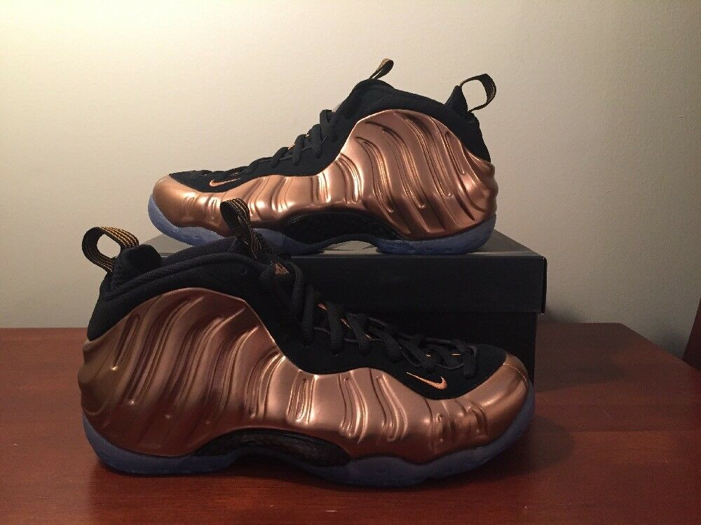 2017 Nike Air Foamposite One Metallic Copper Size 8.5 314996-007 Royal Eggplant