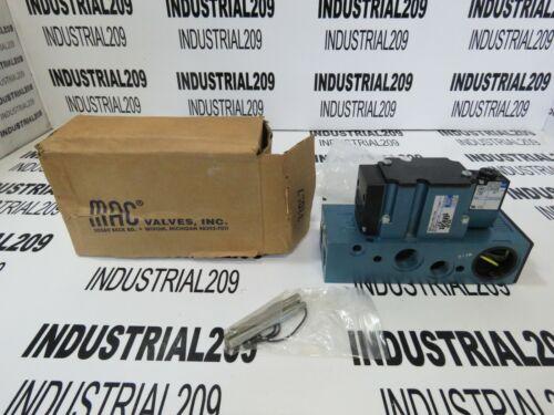 MAC SOLENOID VALVE 6311D-611-PM-111DA NEW IN BOX