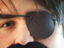 Reenactment-LARP-Pirate-Buccaneer- Brown Leather Eye Patch