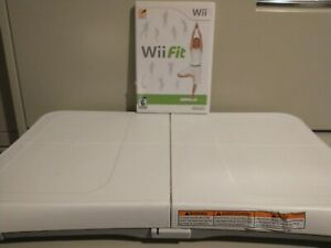 Wii Workout Bundle - Nintendo Wii Fit  with Balance Board  Clean/Works