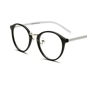 Vintage Fashion Clear Lens Eyeglasses Frame Unisex Retro ...