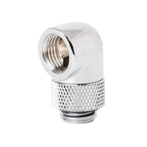 """Barrow G1//4/"""" Thread Male to Female 90 Degree Rotary Fitting Extender Adapter"""