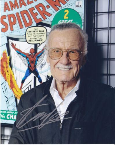 Stan Lee autographed 8x10 autographed RP photo