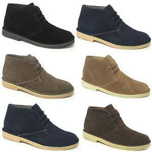 MENS-LEATHER-DESERT-BOOTS-NEW-BOYS-SUEDE-ANKLE-LACE-UP-CASUAL-CLASSIC-SHOES-SIZE