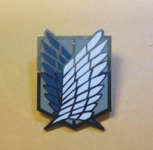 Attack on Titan metal Survey Recon Corps pin