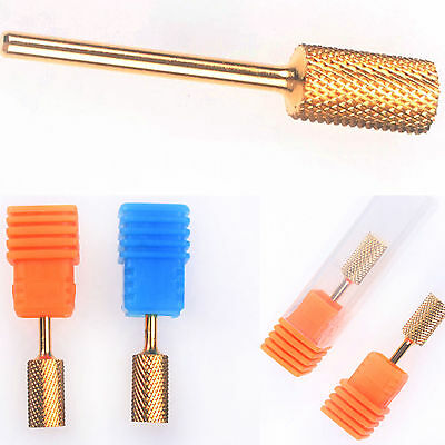 New 3 Size Electric Cylinder File Drill Bit Nail Art Manicure Pedicure Tools Set