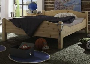 doppelbett bettgestell 200x200 bett holz massiv kiefer. Black Bedroom Furniture Sets. Home Design Ideas