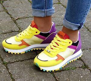 LIU-JO-Schuhe-Wonder-2-0-BXX063-TX095-Gelb-Yellow-Damen-Sneaker-Neu
