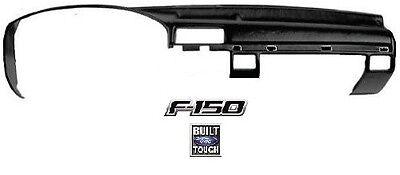 FOR 1992-1996 FORD BRONCO F150 F250 F350 New Black Accu-Form Molded Dash Cap