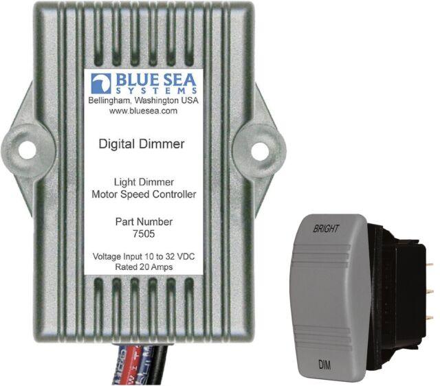Blue Sea 7505 8216 Marine Grade Universal Digital Light