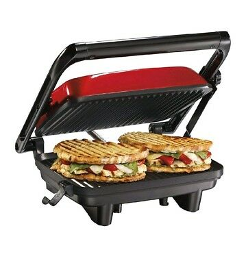 Sandwich Maker Toaster Panini Press Nonstick Grill Breakfast Electric Machine Ebay