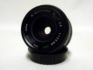 FUJICA-X-KOMINAR-W-f-2-8-28mm-DM-Prime-Wide-Angle-Lens-SLR-Film-Camera-DSLR-Sony