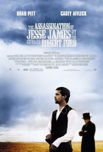 THE ASSASSINATION OF JESSE JAMES MOVIE POSTER FILM A4 A3 ART PRINT CINEMA