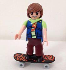 Playmobil Minifigure Mystery Pack Series 2 Skateboarder Mini-figure EUC