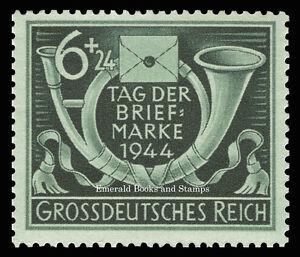 EBS-Germany-1944-Stamp-Day-Tag-der-Briefmarke-Michel-904-MNH