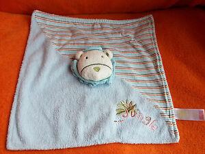 Adams-Little-Bundle-Blue-Lion-Comforter-Blankie-Doudou-Soft-Toy-Jungle