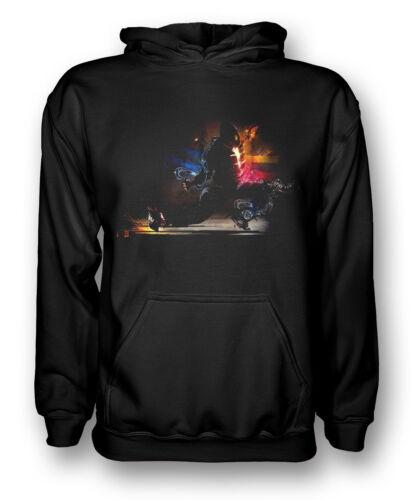 Urban Breakdance Cool Neon Glow Kids Hoodie