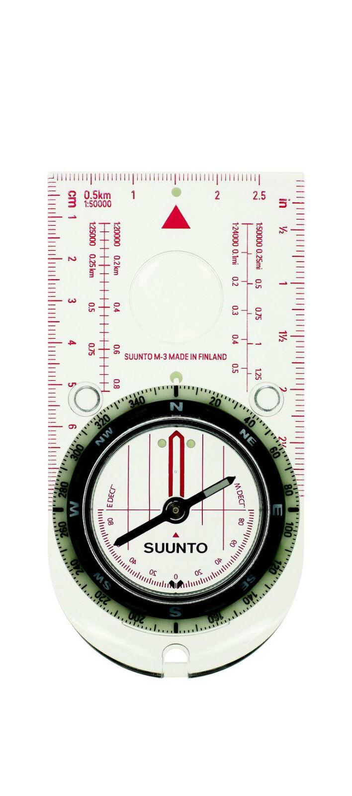 Suunto M-3 Linealkompass Marschkompass 360-Grad Kompass Kompaß 708107