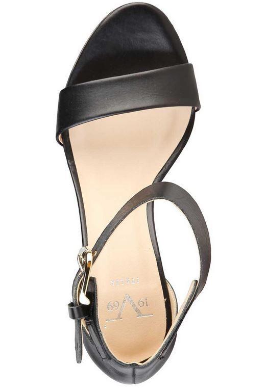Versace V1969 MARIE Sandalette schwa Highheel Echtleder Damenschuhe Sandalette MARIE Gr 40 cfa972