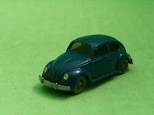 WIKING 1:87 VW VOLKSWAGEN KAFER BEETLE - DARK BLUE - VINTAGE - VERY GOOD COND.