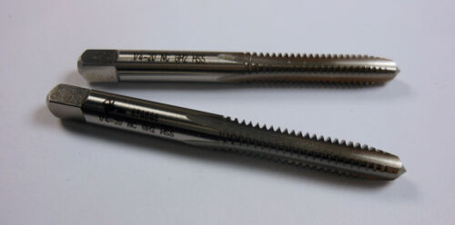 "2 Pcs BRUBAKER Plug Hand Taps 1//4-20 4FL H2 HSS UNC 2-1//2/"" OAL 10312"