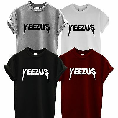 YEEZUS T SHIRT kayne WEST TOUR unisex CHRIS ROCK RIHANNA JAY Z FESTIVAL rap