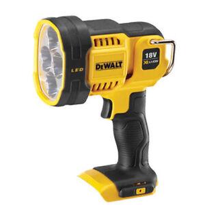 Dewalt-DCL043N-DCL043-N-18V-XR-Cordless-LED-Flashlight-Work-Light-Only-Body
