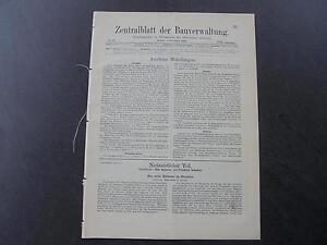 Antiquitäten & Kunst 1910 Zentralblatt 89/ Dresden Neues Rathaus Lassen Sie Unsere Waren In Die Welt Gehen