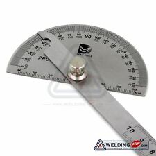 180 Winkellineal Winkelmesser Edelstahl Messwerkzeug Maßstab Schmiege Lineal