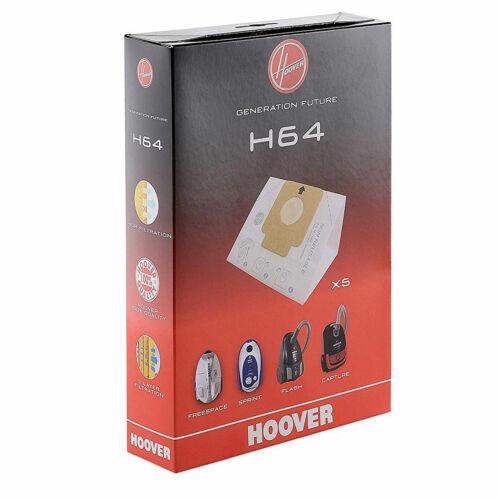 Hoover H64 sacchetti di carta Aspirapolvere spazio libero SPRINT FLASH CILINDRI