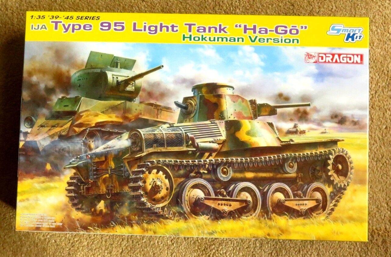 drake Type 95 ljus Tank'HA -GO 'Hokuman Version.1 35 e skalan