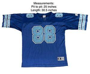 Vintage 1995 Michael Irvin 88 Dallas Cowboys Starter USA Jersey Size 48 Large