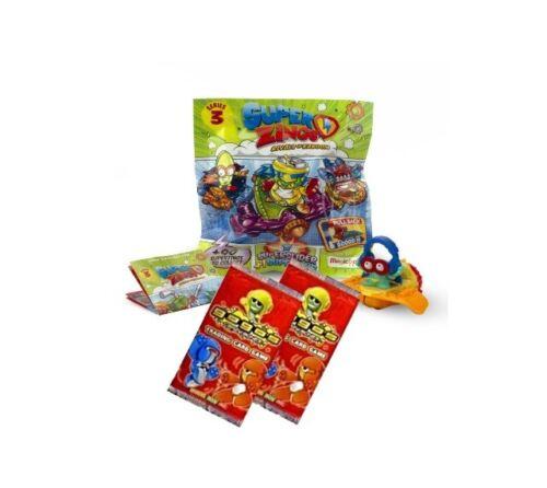 Superzings Series 3 ~ superslider Pack ~ superzing ~ plus 2 Gogo Carte