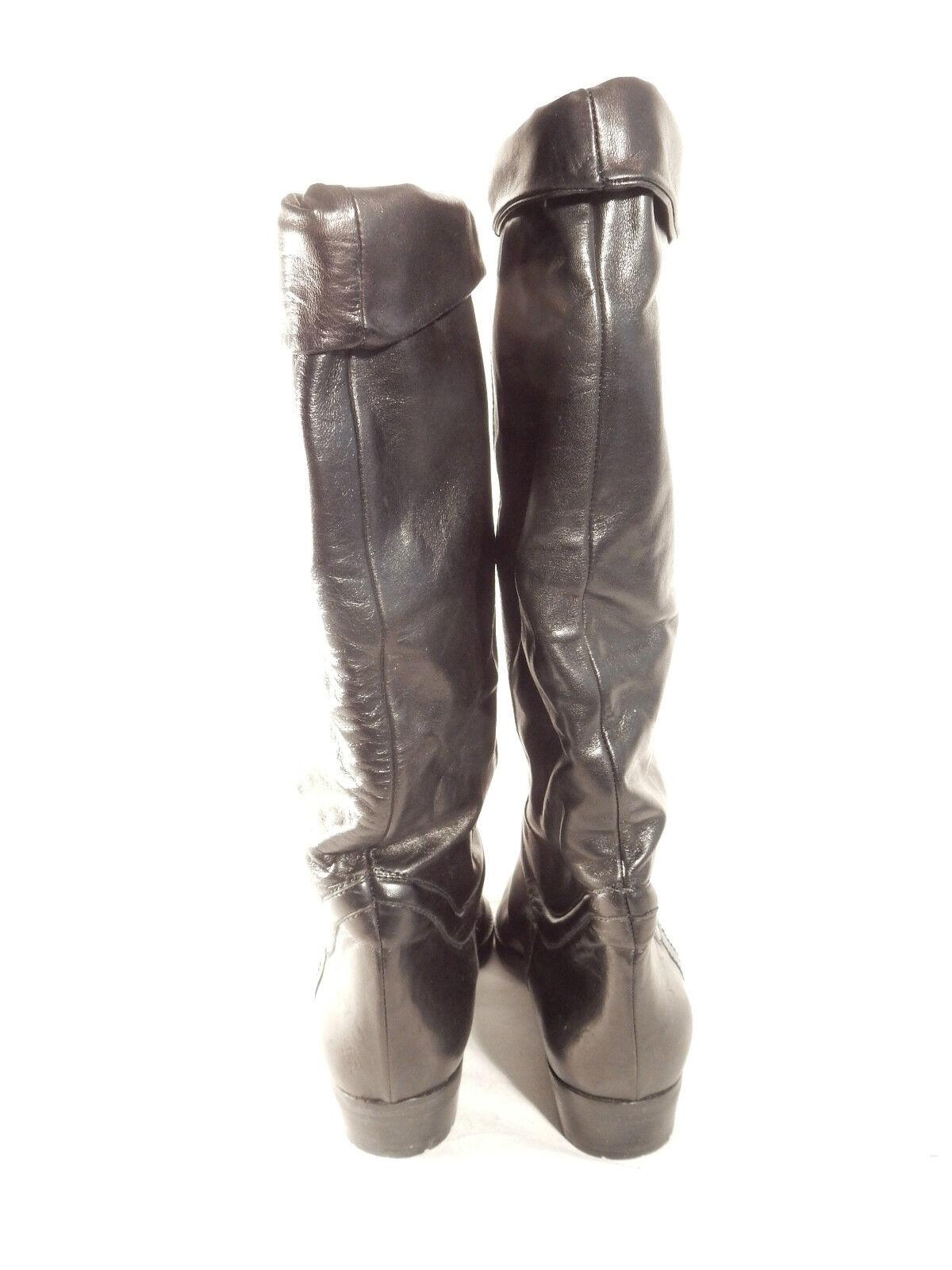 BALLY Stiefel Gr weiches 38 schwarz Innenleder sehr weiches Gr Leder b265cf