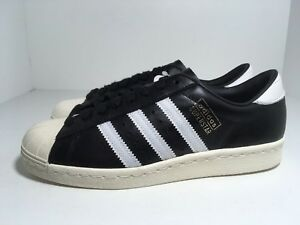adidas superstar black and white size 6
