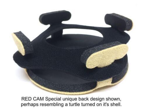 Bluestar RED CAMERA Viewfinder Yellow Ultrasuede Microfiber Eyecushion 3011