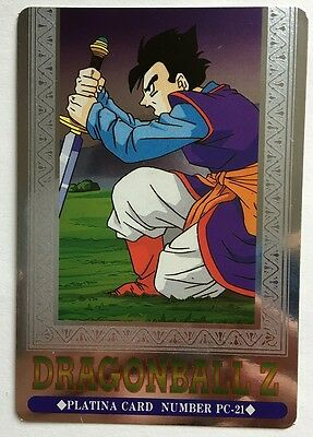 Generoso Dragon Ball Z Hero Collection Silver Pc-21 Prendiamo I Clienti Come Nostri Dei