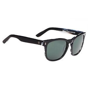 d3bd95c140 Spy Optic Beachwood Black horn Happy Gray Green 673027074863 for ...