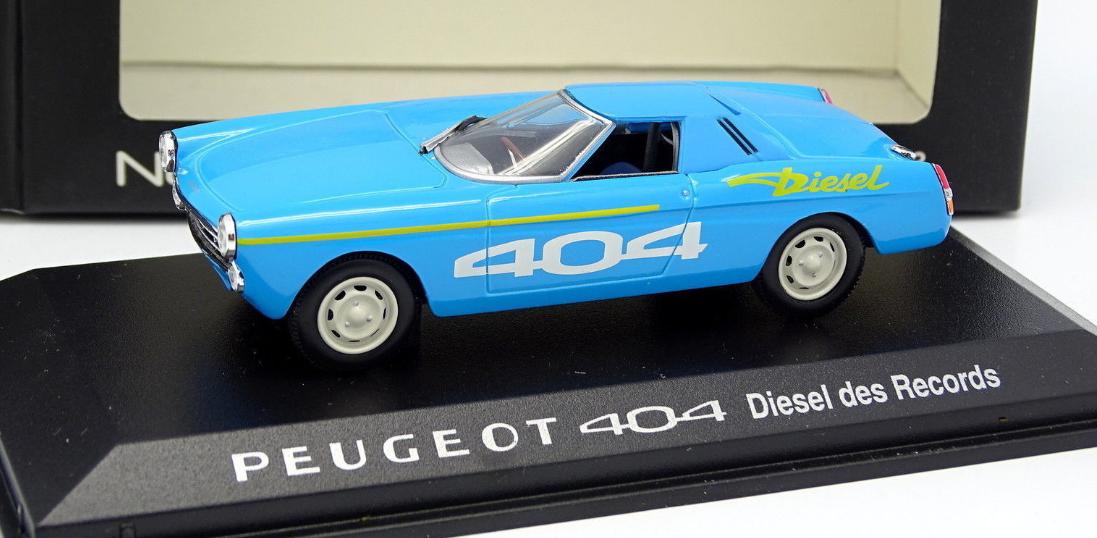 Peugeot 404 Diesel des Records 474442 1 43 Norev