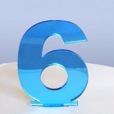 Contemporanea Numero 6 Cake Topper-mostra Il Titolo Originale