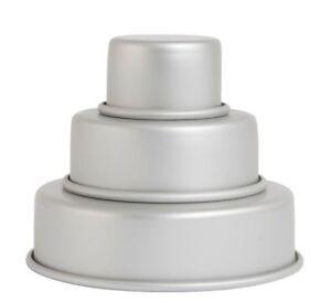 NEW-Mondo-Pro-Mini-3-Tier-Cake-Pan-Set
