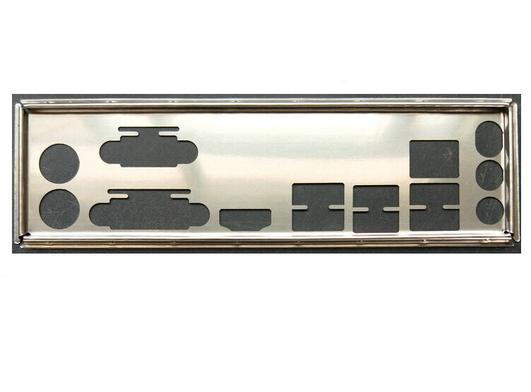 OEM IO SHIELD BLENDE BRACKET for GA-970A-UD3 GA-P67A-UD9
